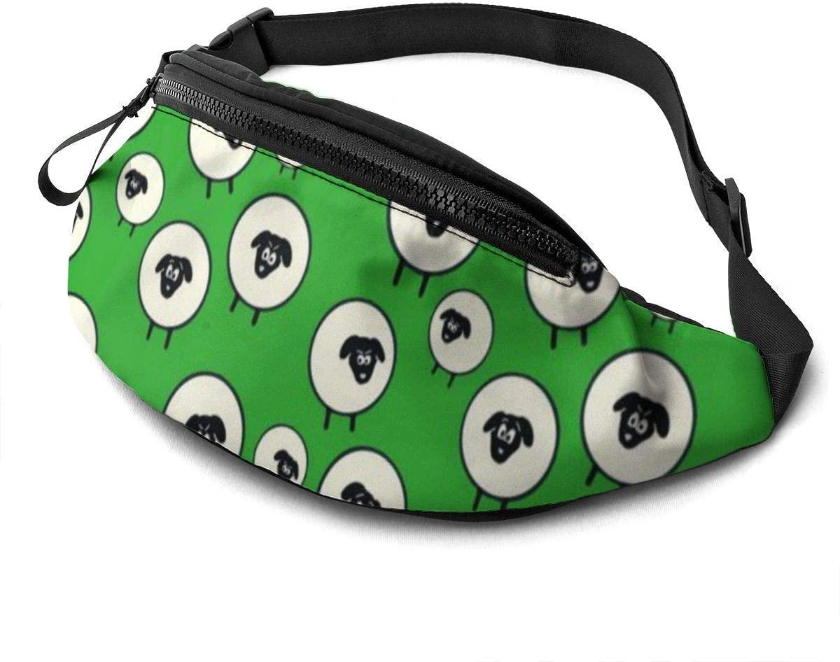 Casual Waist Bag Irish Wool Waist Pack Fashion Belt Bags