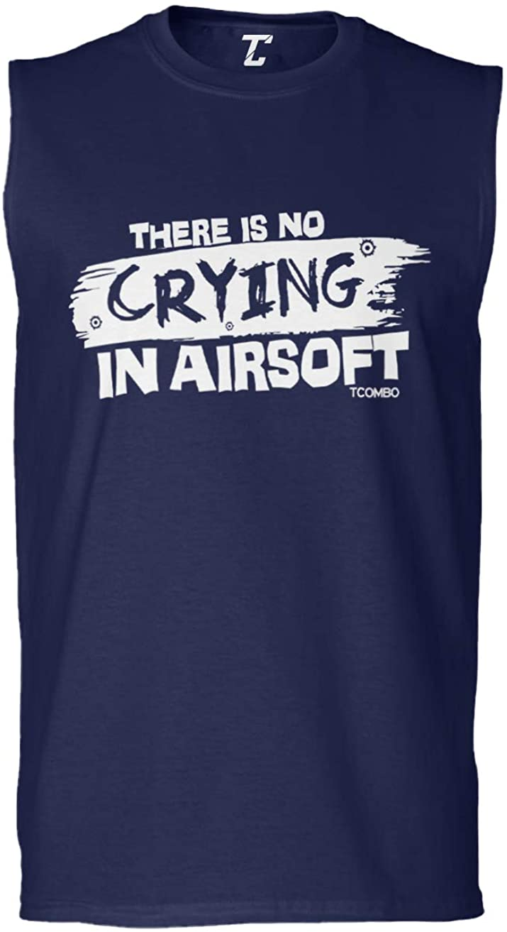There's No Crying in Airsoft - Gun Sport Men's Sleeveless Shirt