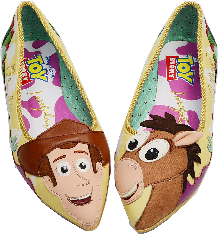 Irregular Choice Disney Toy Story Women Round Up Gang Western Cowboy Woody Bullseye Horse Shoe