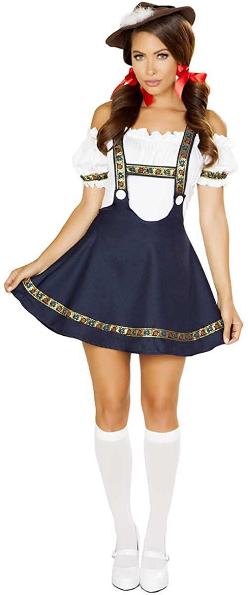 Musotica Sexy Oktoberfest Bavarian Maiden Costume