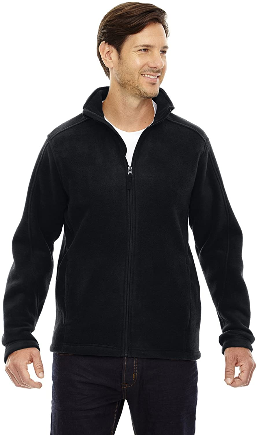 NE C365 Men Journey FLC Jckt (Black 703) (4XL)