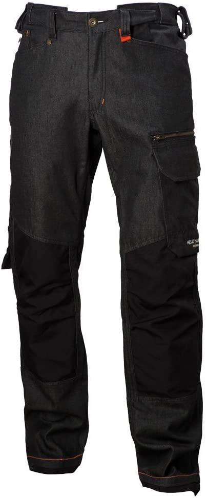 Helly Hansen 76501_999-C52 Mjolnir Work Pants, C52, Black