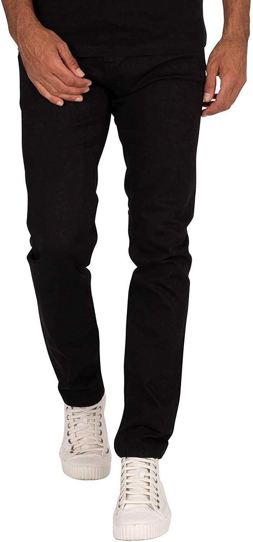 Pepe Jeans Men's Hatch Slim Jeans, Black