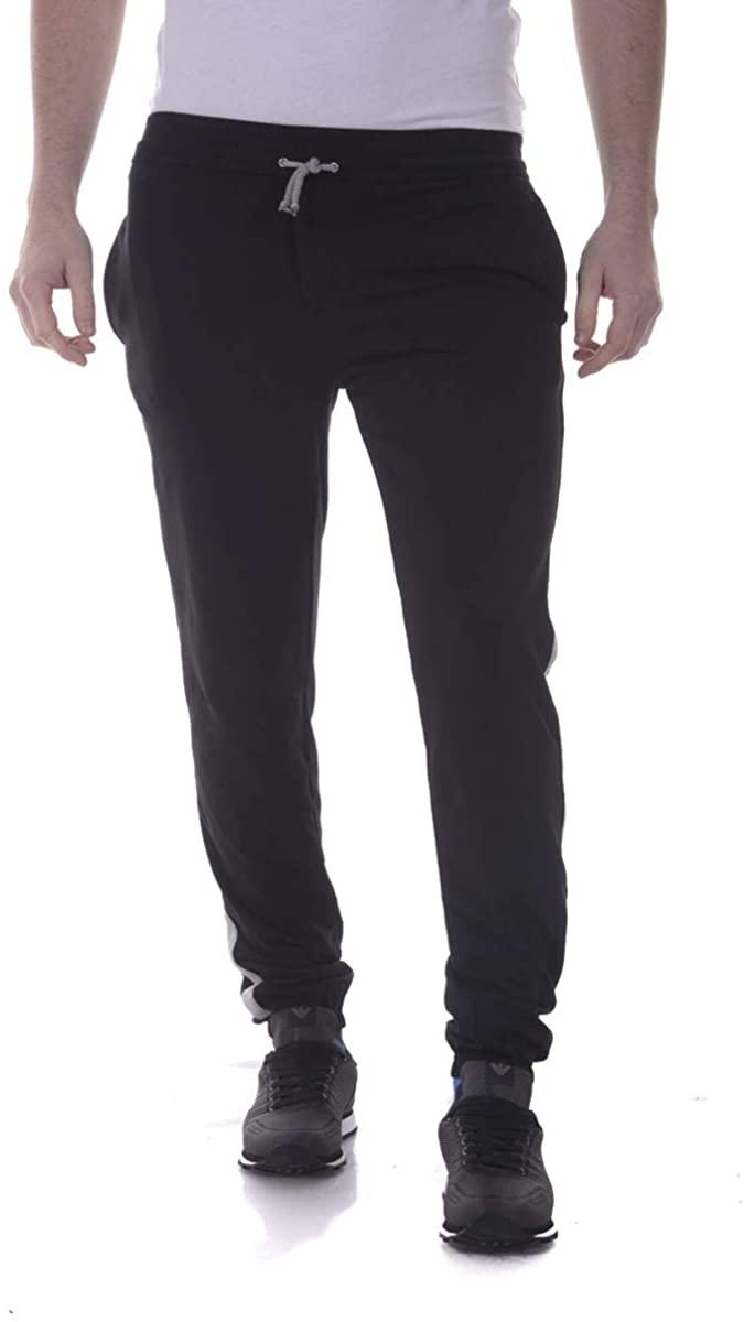 Daniele Alessandrini - Men'S Suit PJ2759E4393302 Black Pants Leonardo Banda