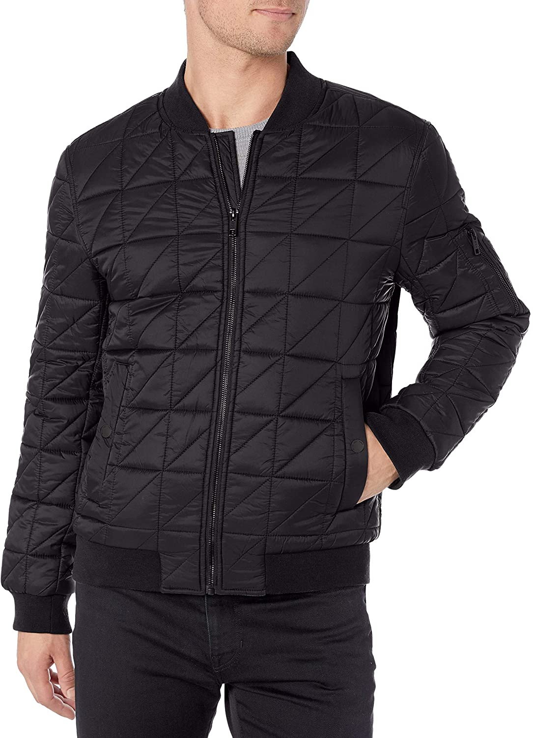 Marc New York by Andrew Marc Men's Lightweight Bugby Jacket