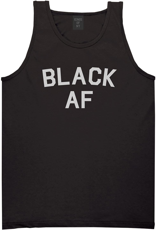 Kings Of NY Black AF Mens Tank Top Shirt