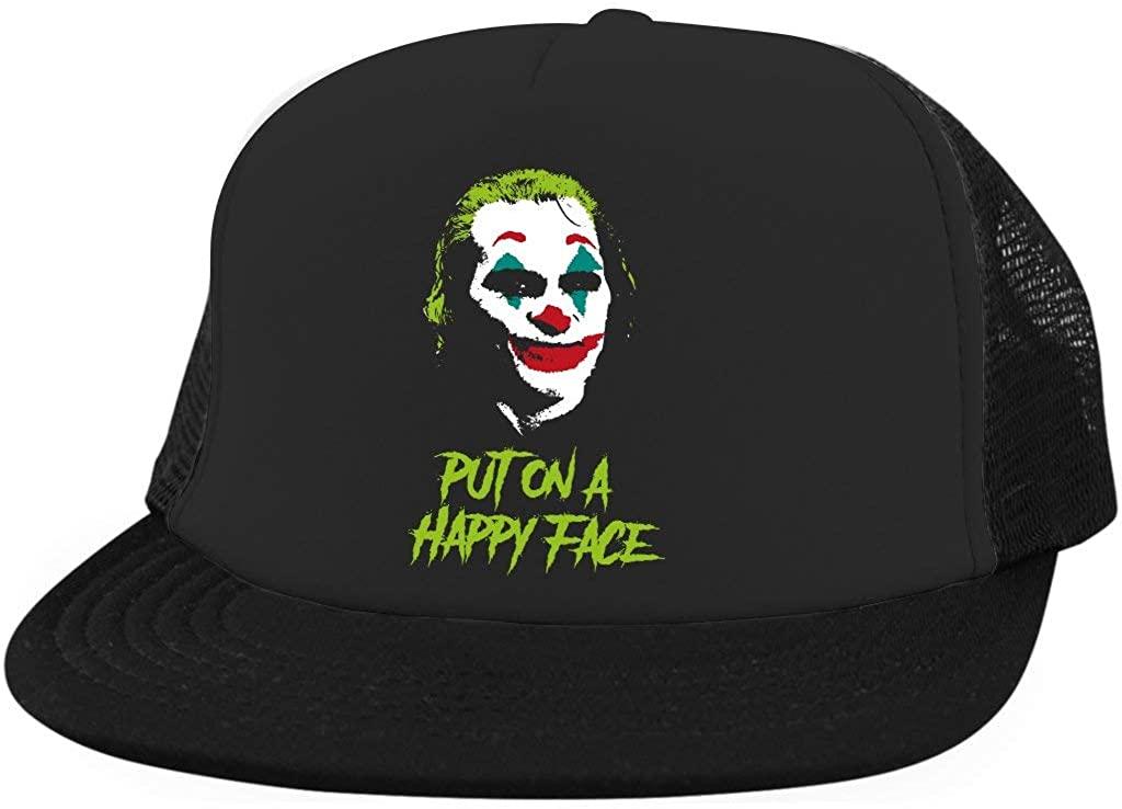 Joker Put on a Happy Face Hat Joker Hat Joaquin