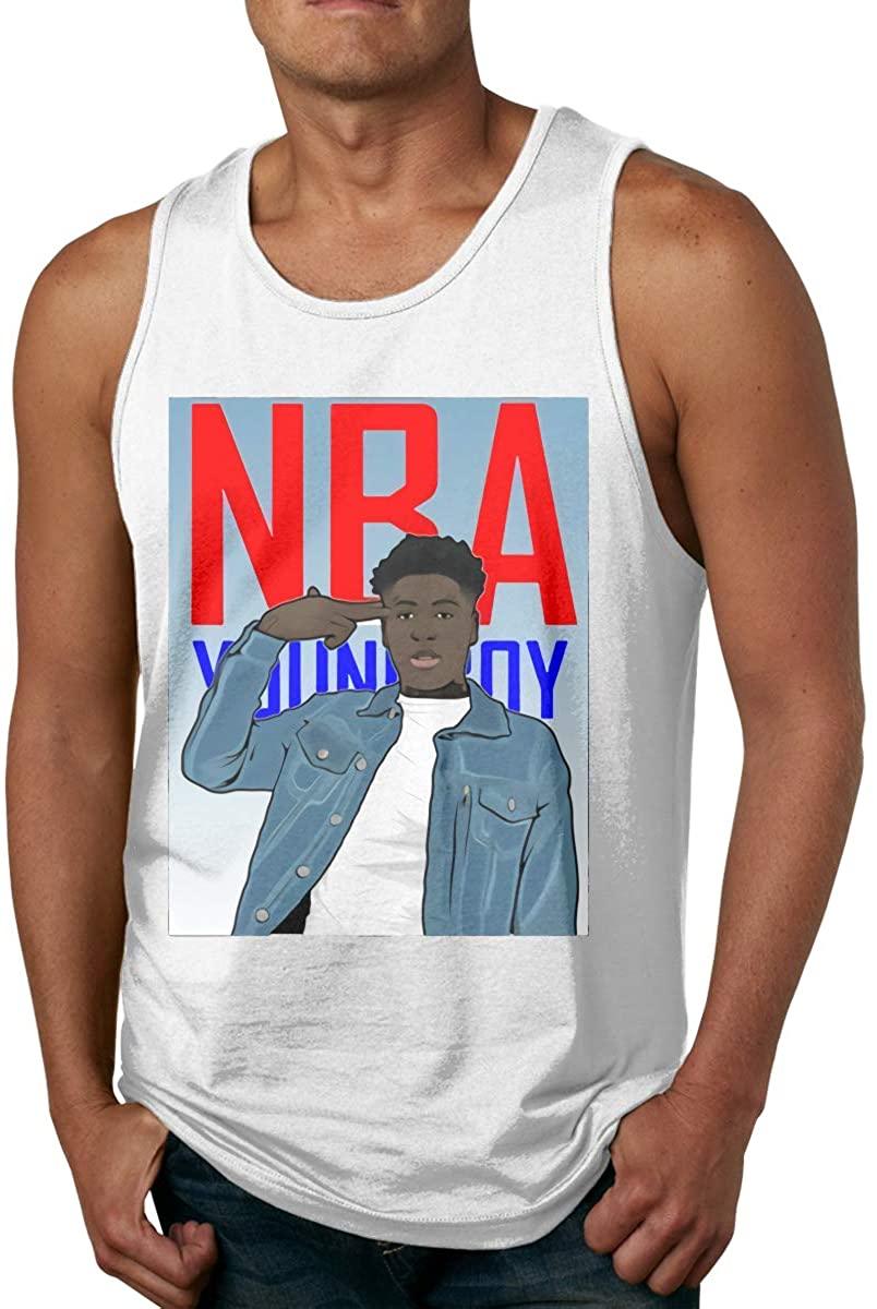 Fashion Youngboy Never Broke Again Mens Stylish Sleeveless T-Shirt