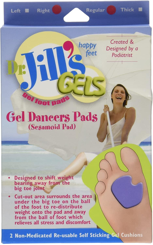 Dr. Jills Gel Dancers Pads (Right Foot)