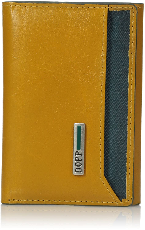 Dopp Men's Beta Rfid Blocking Leather I.d. Three-fold Wallet