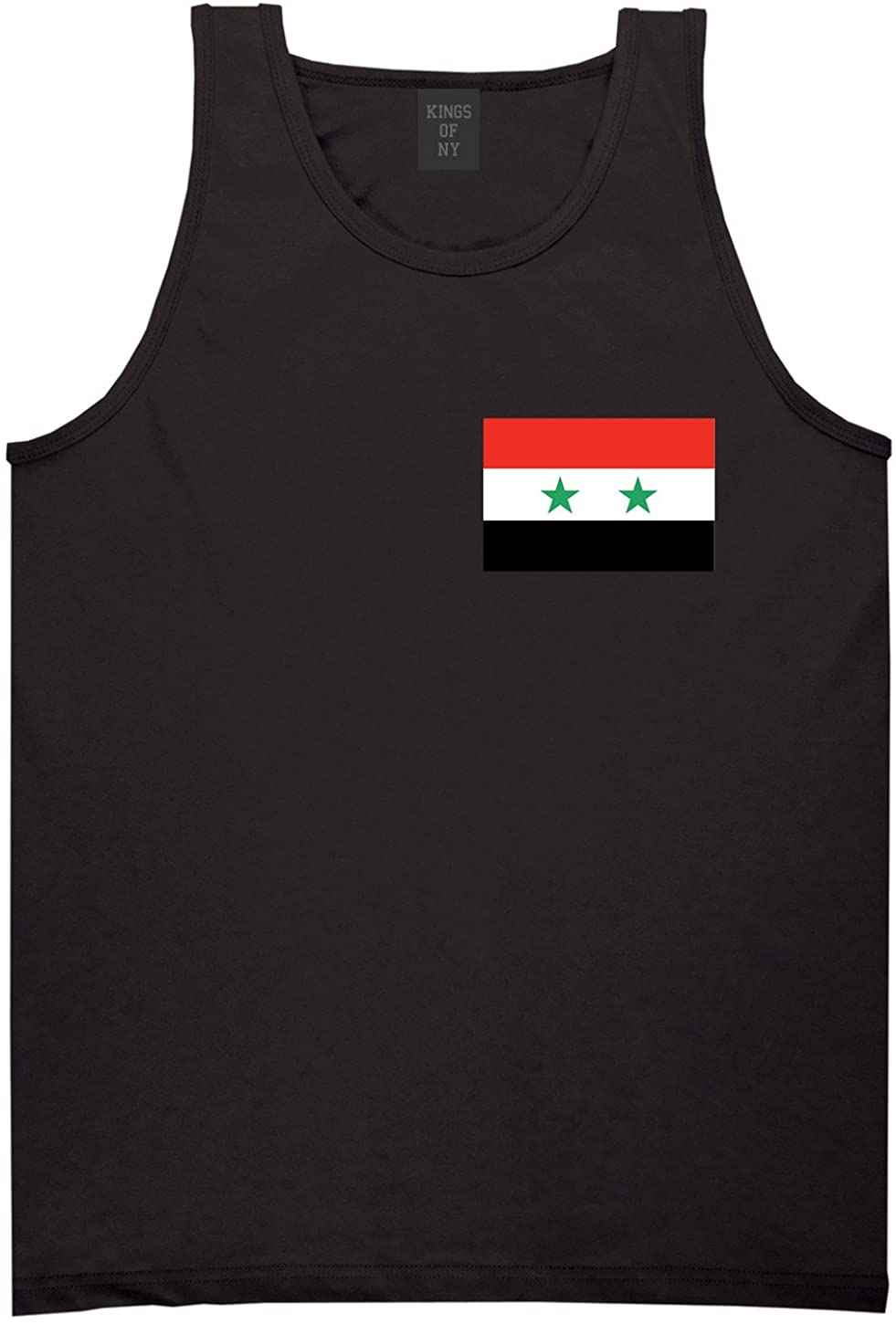 Kings Of NY Syria Flag Country Chest Tank Top Shirt