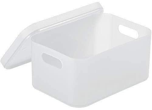 WXF Cosmetic Storage Organizer Box, Plastic Storage Box Home Office Cosmetic Organizer (Color : B)