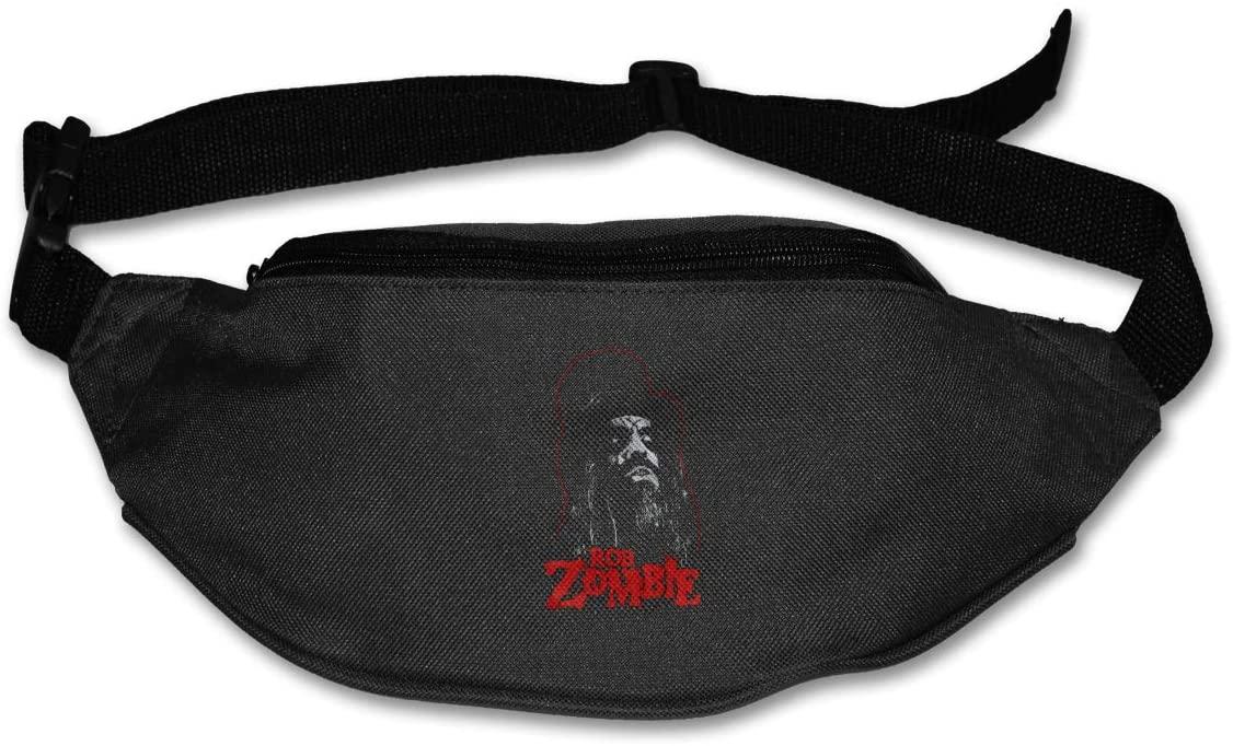 Ertregysrtg Rob Zombie Runner's Waist Pack Fashion Sport Bag