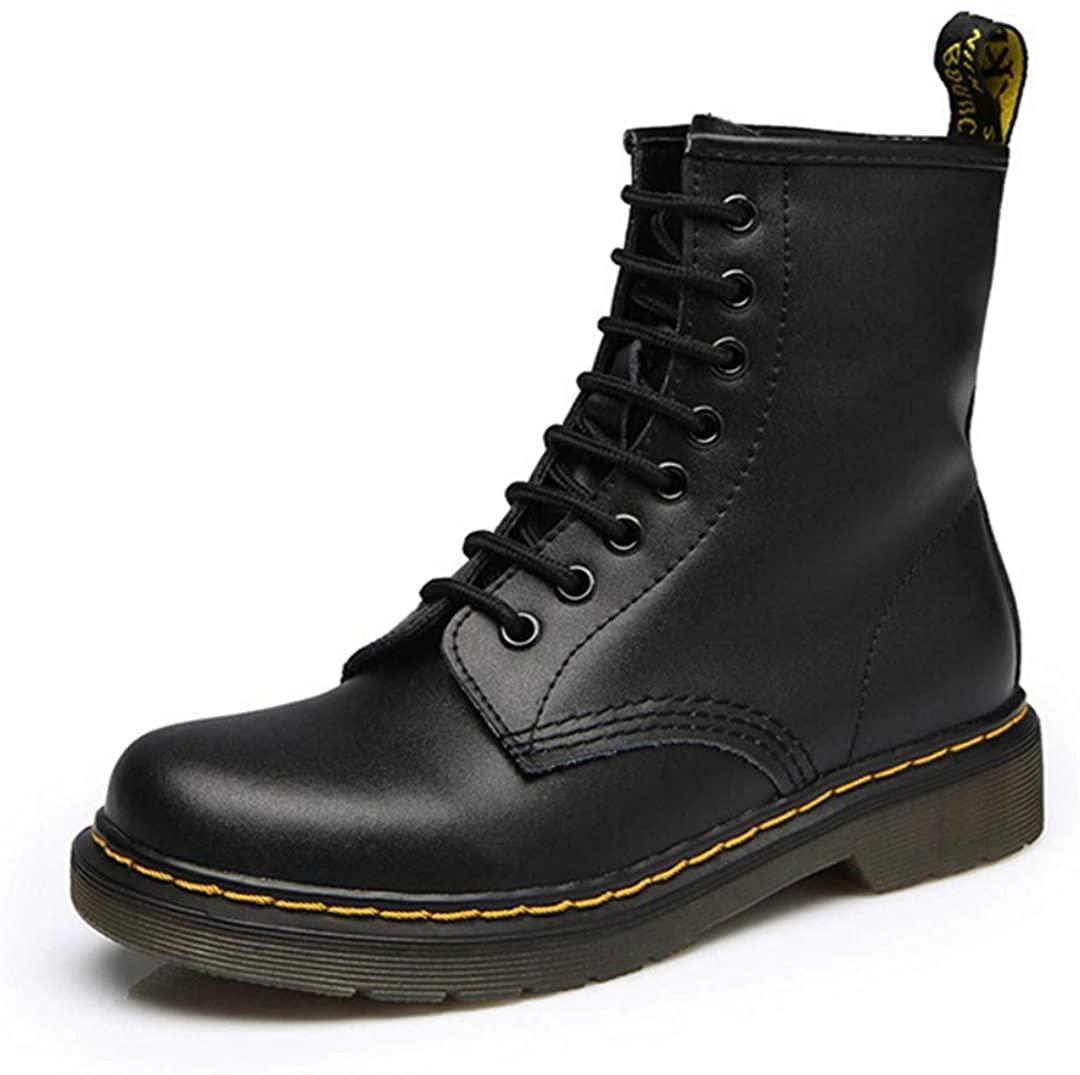 Split Leather Men Boots Dr Boots Shoes Top Motorcycle Autumn Winter Shoes Man Snow Boots