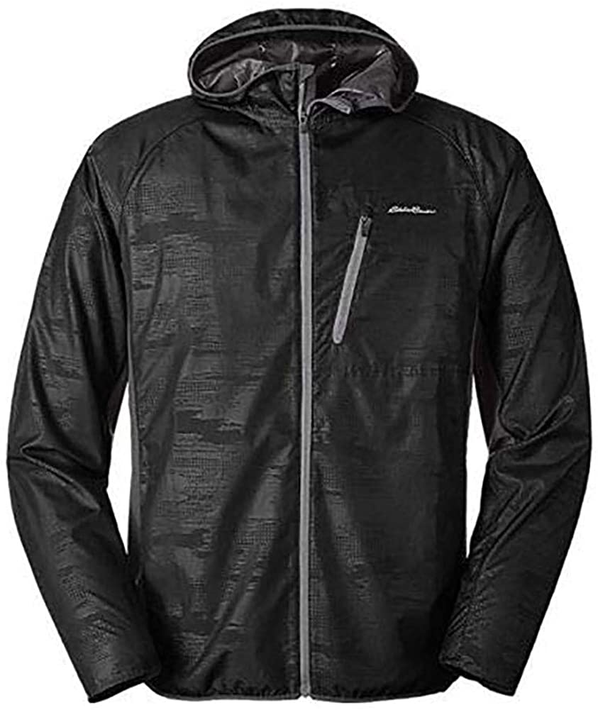 Eddie Bauer Men's Meridian Hybrid Jacket, Carbon Regular M