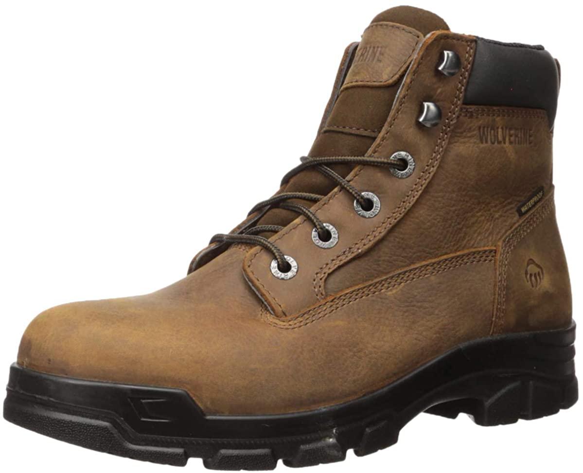Wolverine Men's Chainhand Steel Toe Industrial Shoe