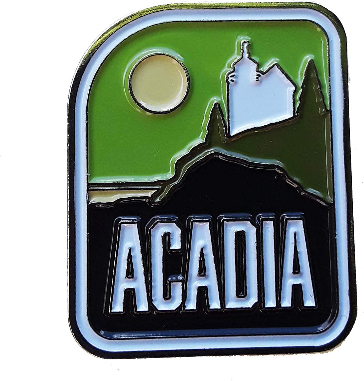 Vagabond Heart Co Acadia National Park Enamel Pin