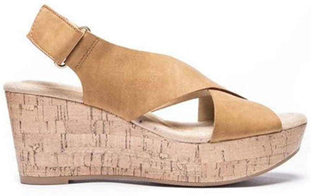 Womens Sandals with High Heels And Wedge Heels
