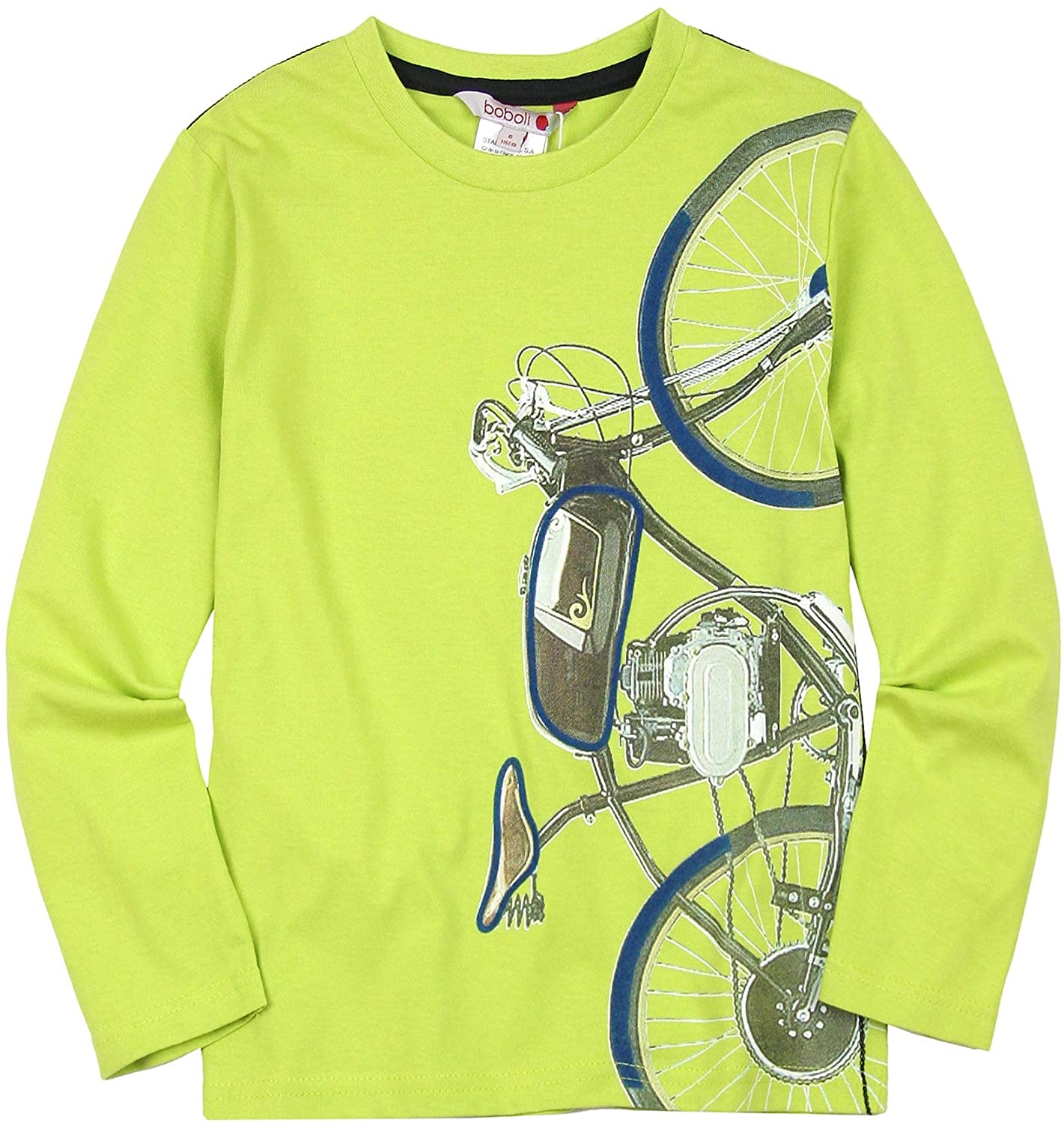 Boboli Boys T-Shirt with Bicycle Print, Sizes 4-16
