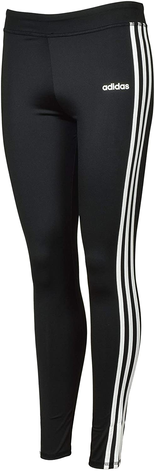 adidas Girls' Performance Tight Three Stripe Leggings