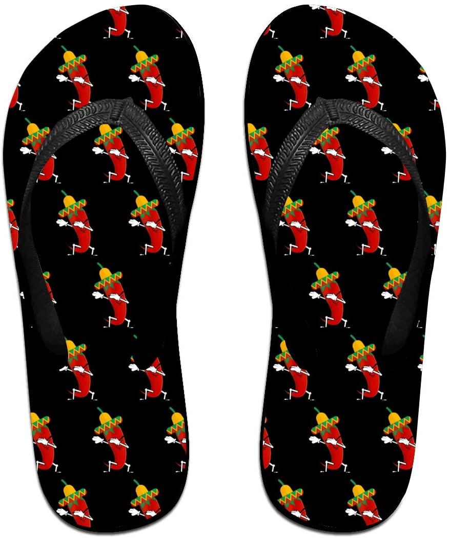 JINYOUR Chili Dabbing Unisex Flip Flops Summer Slippers Shoes Beach Sandal