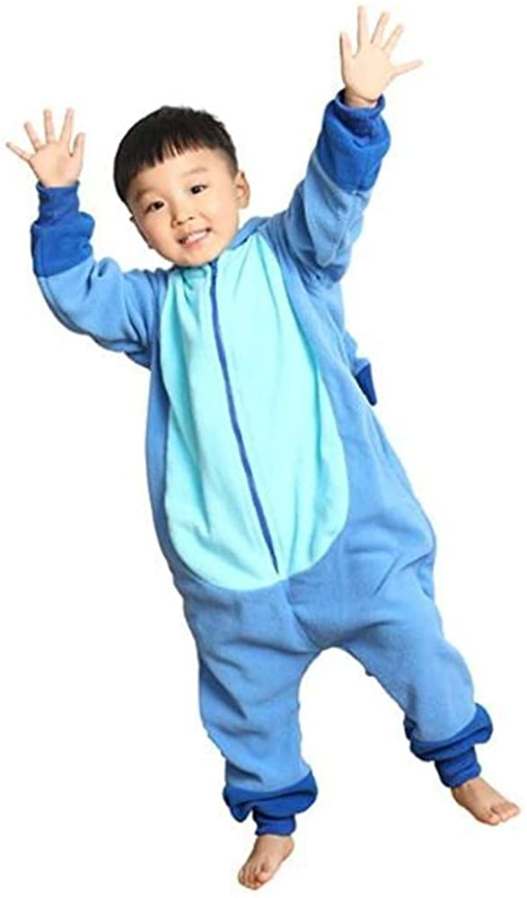 Kids Onesie Animal Pajamas Halloween Cosplay One Piece Sleepwear Cartoon Outfits