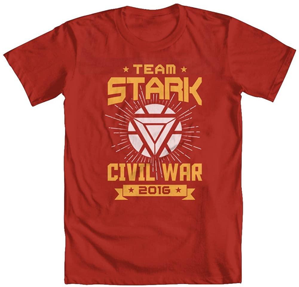 GEEK TEEZ Team Stark Youth Boys' T-Shirt