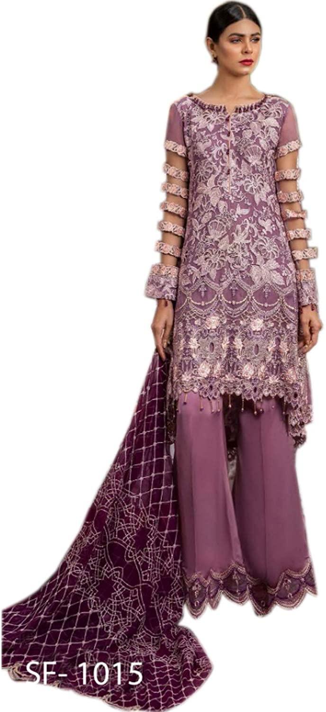 New Pakishtani Traditional Bunto Kazmee Salwar Suits for Women