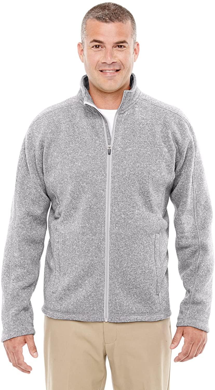 Devon & Jones Mens Bristol Full Zip Sweater Fleece Jacket