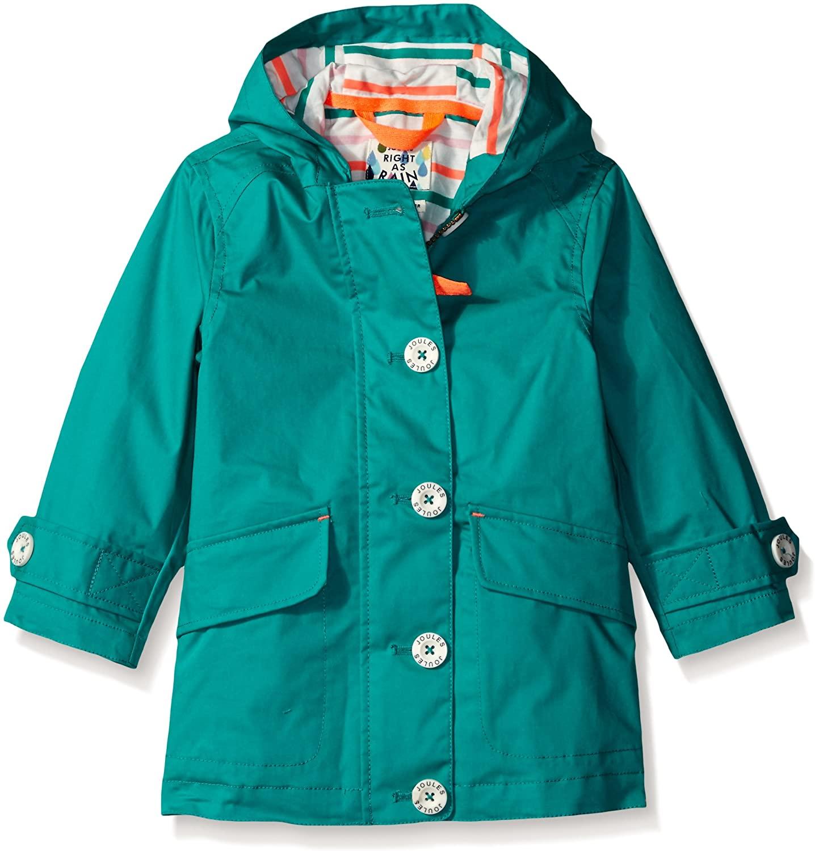 Joules Girls' Little Coast Showerproof Coat