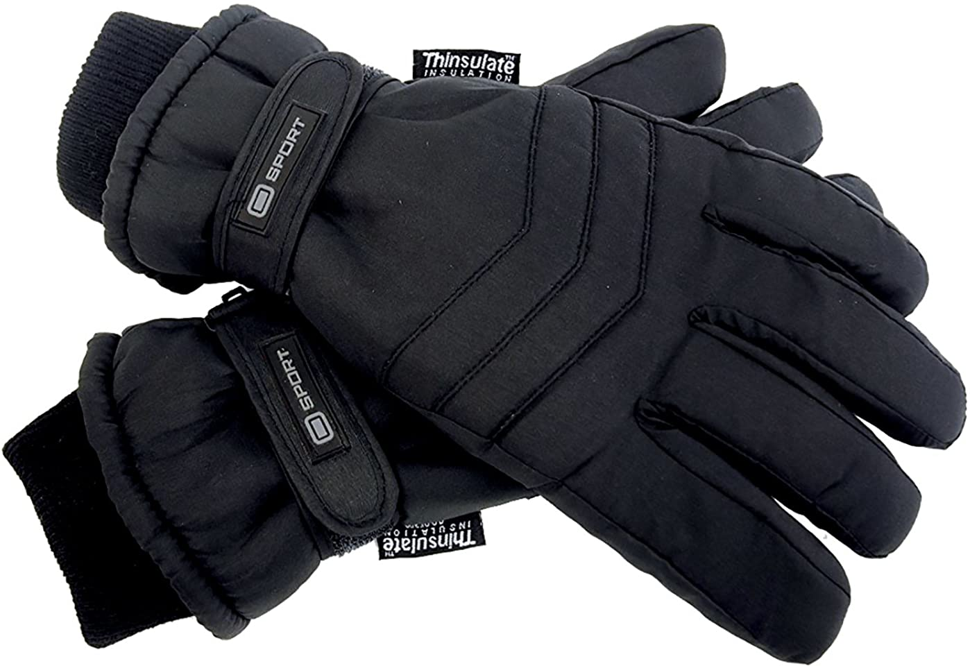 Mens 3M Thinsulate 40 gram Thermal Insulated Waterproof Warm Winter Ski Gloves