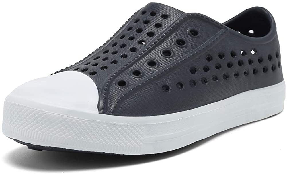 seannel Kids Sandal Water Shoes Slip-On Sneaker Lightweight Breathable Outdoor & Indoor-U819STLXS001-05-Grey-28