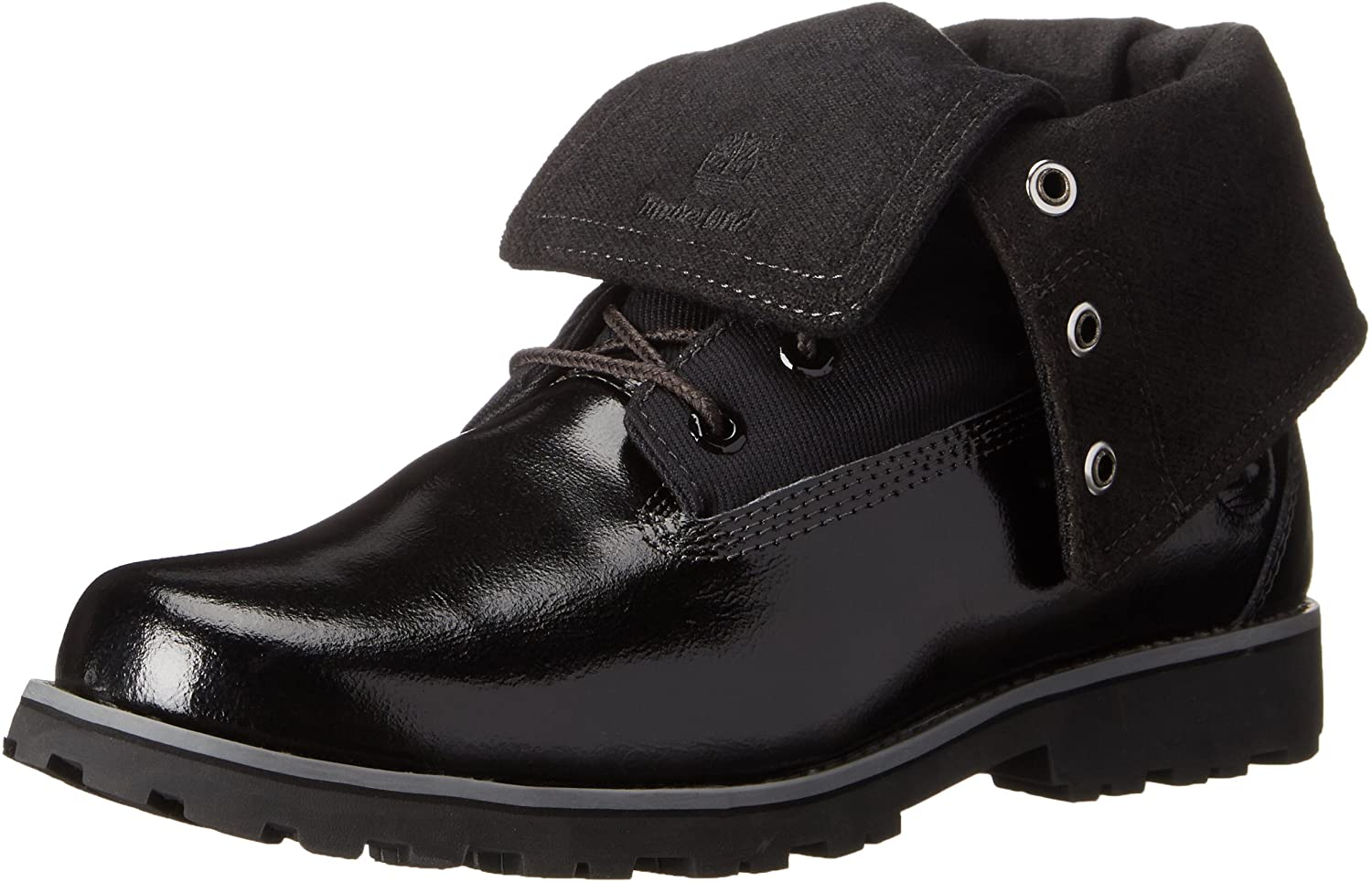 Timberland Authentics Fabric Fold Boot with Closure (Little Kid/Big Kid)