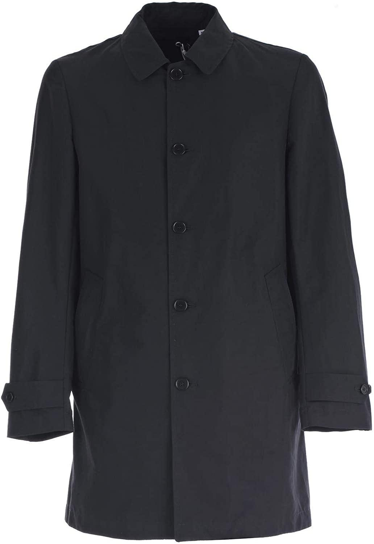 Aspesi Luxury Fashion Man I502753250101 Blue Cotton Coat | Spring Summer 20