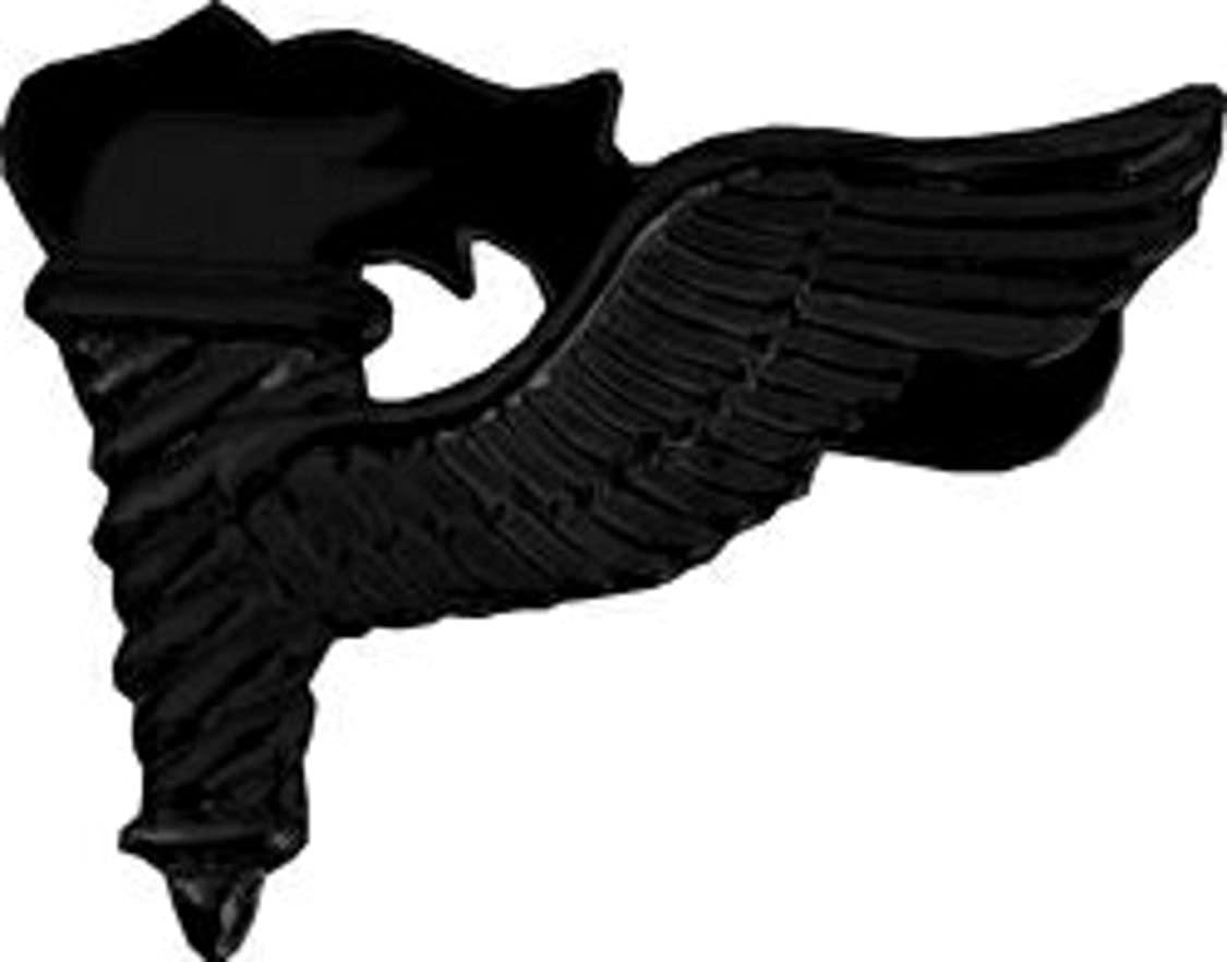 US Army Pathfinder Black Lapel Pin or Hat Pin (metal, 1 1/4