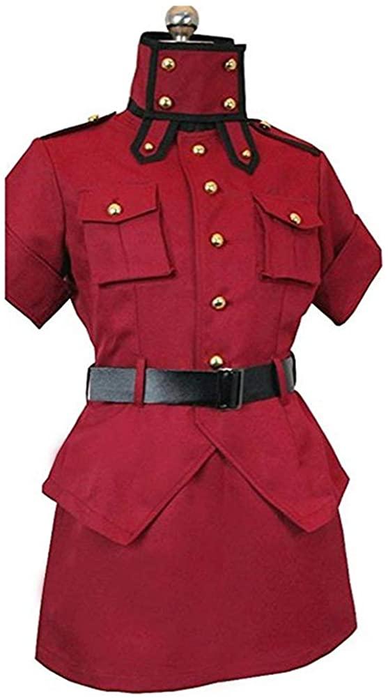 HOLRAN Hellsing Red Cosplay Costume Uniform