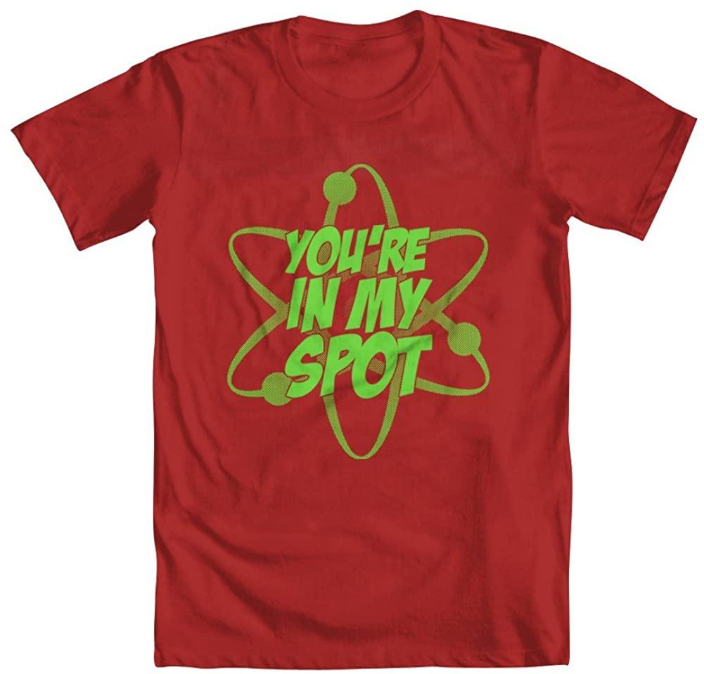 GEEK TEEZ Sheldon You're in My Spot Youth Boys' T-Shirt