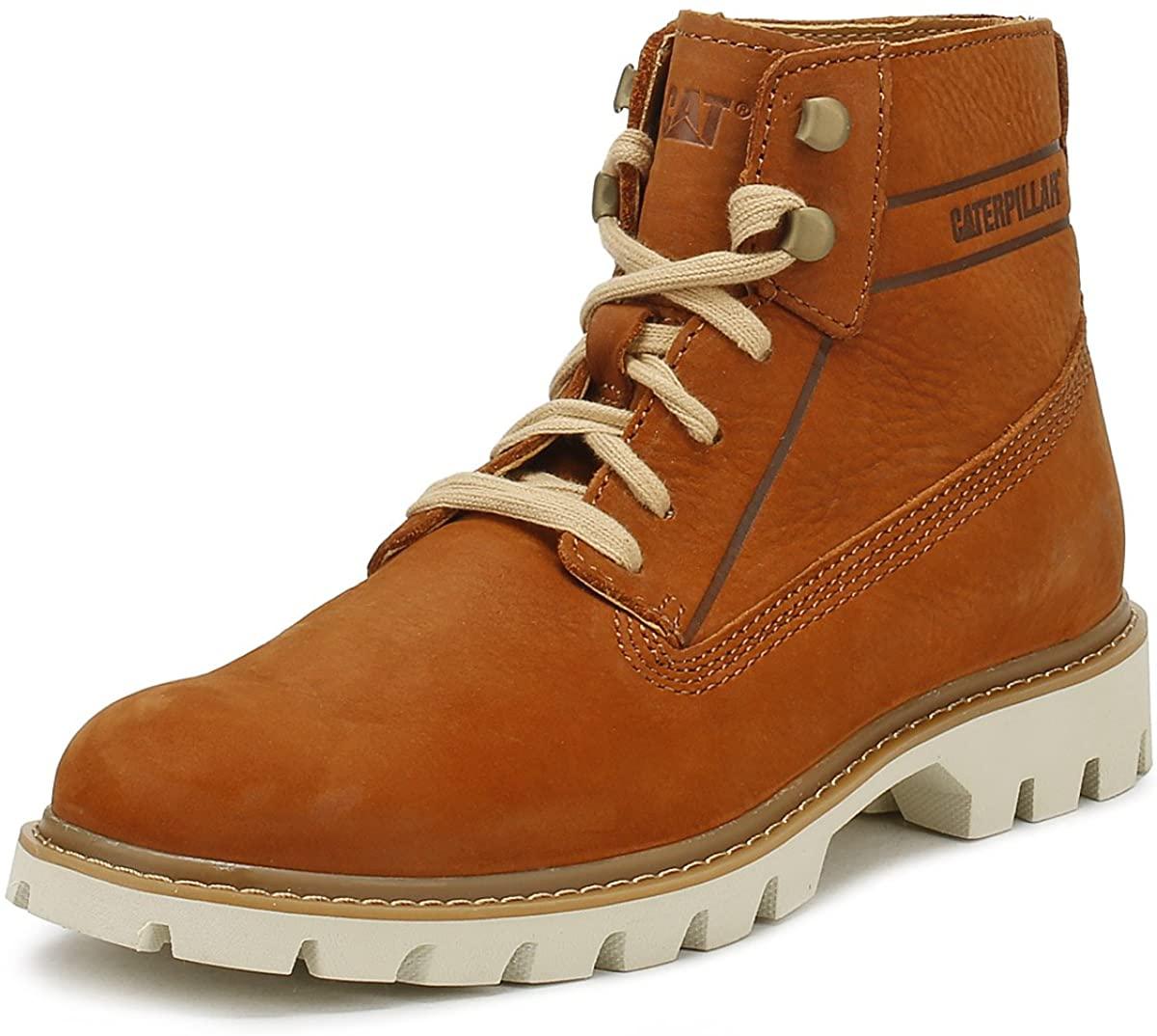 Cat Basis Mens Lace-Up Boots 10 UK/ 11 US Ginger