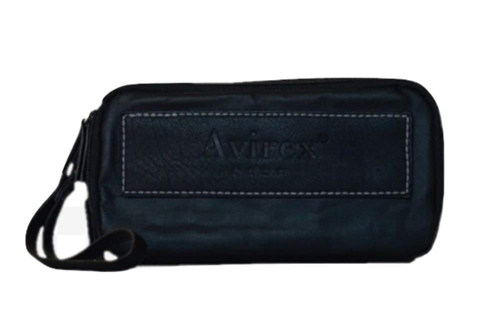 Necessaire con Due Zip | Avirex Newport | AVXNWP03-Black