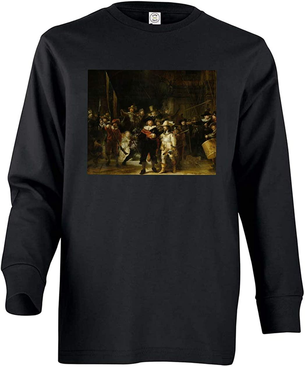Tenacitee Girl's Youth The Night Watch Long Sleeve T-Shirt