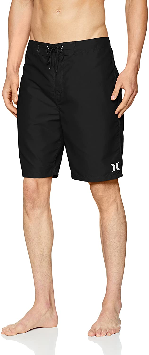 Hurley Men's One and Only Board Shorts, Black, 29