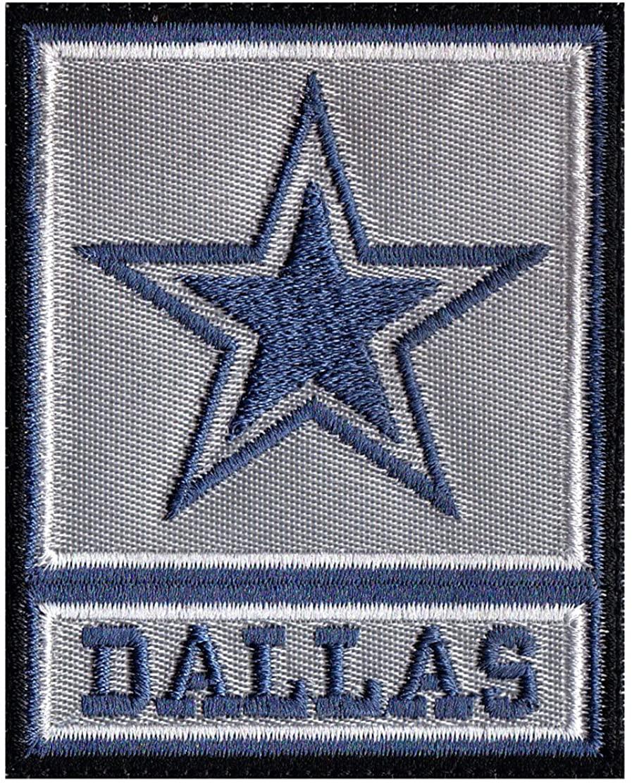 Dallas Army Rank Cowboy Parody Inspired Art Patch
