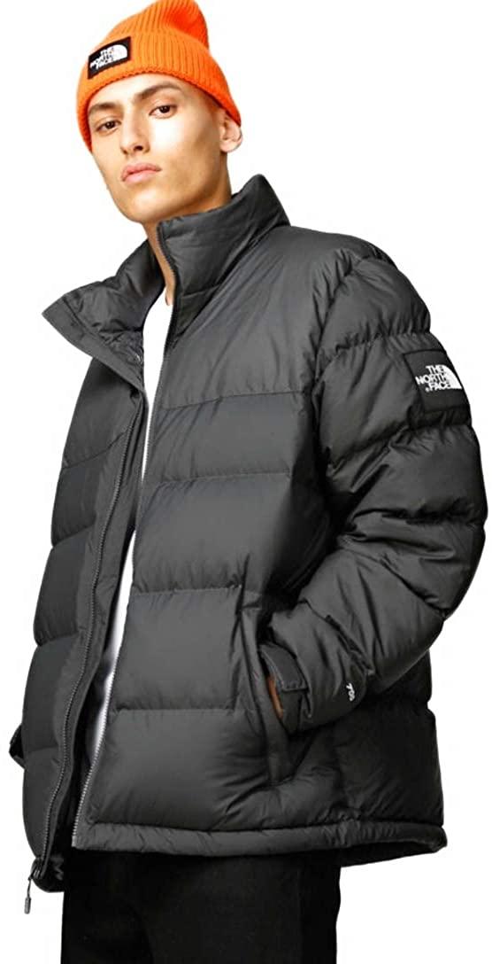 The North Face Men 1992 Nuptse Jacket 700 Down-Asphalt Grey- X-Large