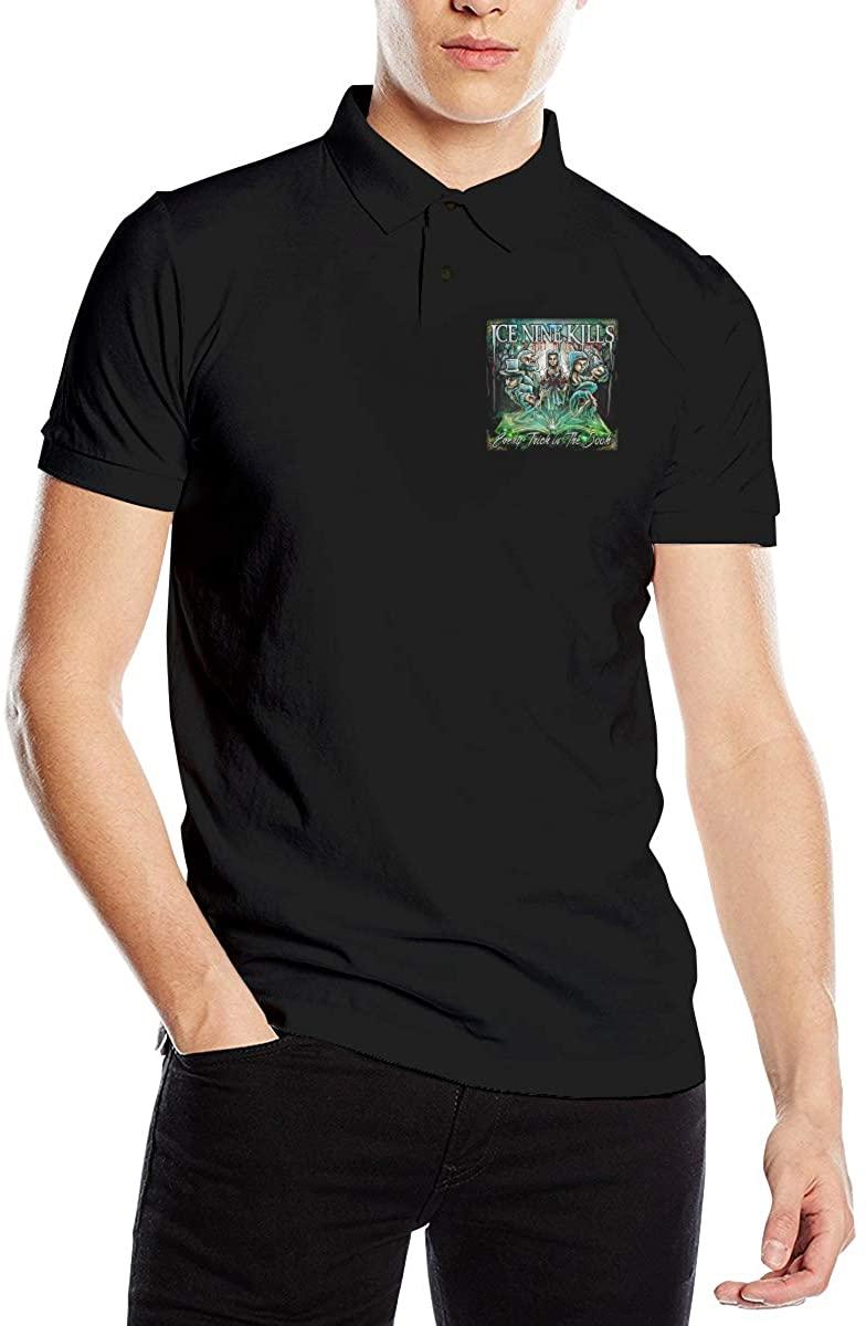 Ice Nine Kills Men's Comfort Premium Polo Shirt Short Sleeve T-Shirt