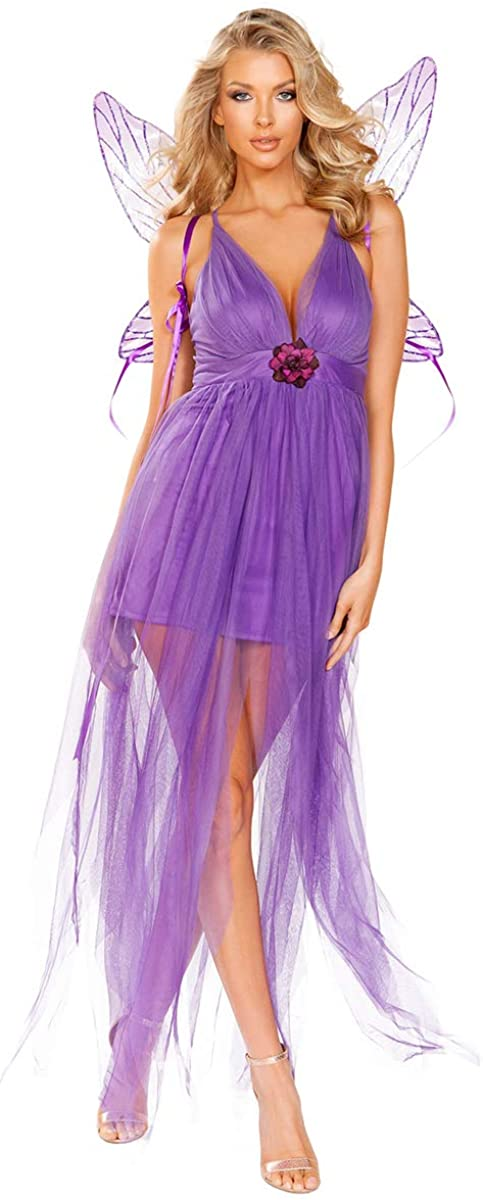 Sexy Midsummer Nights Dream Lilac Fairy Costume