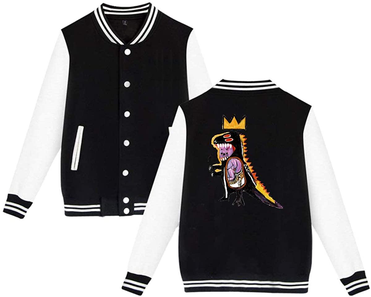 1836 Jean Michel Basquiat Unisex Baseball Jacket Varsity Jacket