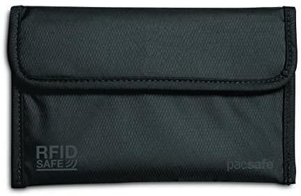 Pacsafe Rfidsafe 50 RFID Passport Protector, Black