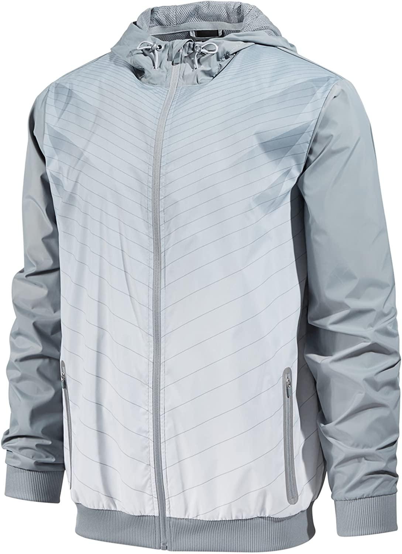 Ideology Mens Wind-Resistant Track Jacket
