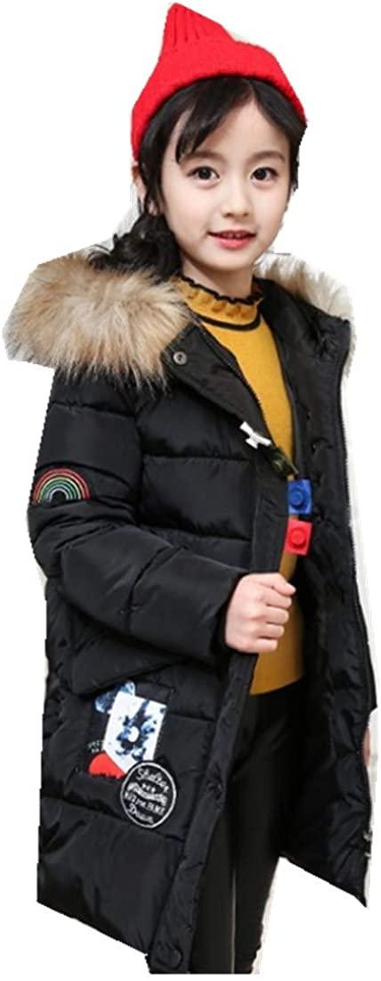 MV Cotton Coat Children's Clothing Winter Girls Jackets Thick Warm Korean Jacket