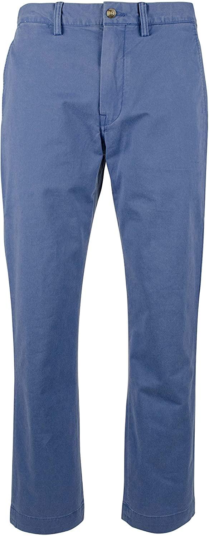Polo Ralph Lauren Men's Flat Front Stretch Slim Straight Fit Pants